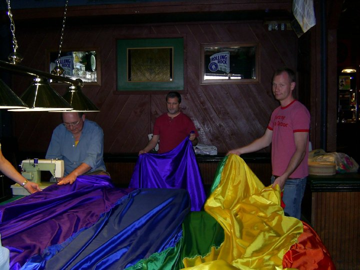 The River of Pride Flag Blackstones 2006
