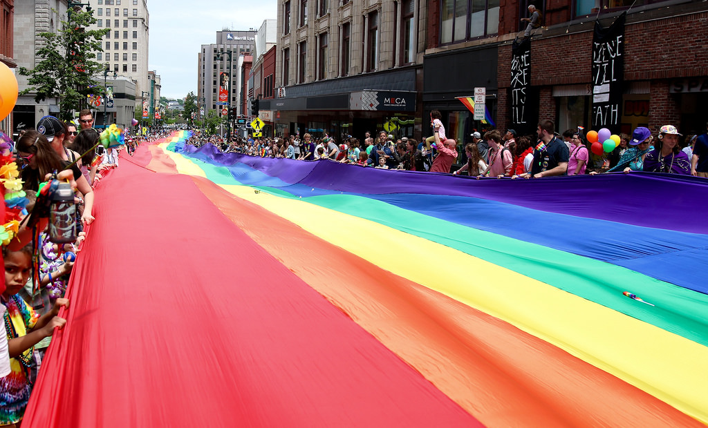 The River of Pride Flag