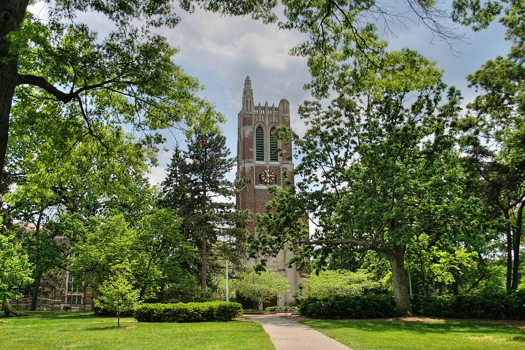 The River of Pride Beaumont Tower at Michigan State University