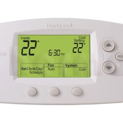 Wiring Diagram For Honeywell Non Programmable Thermostat Vdo Ammeter Shunt Room Thermostats - Thermal Products