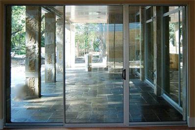 fiberglass aluminum patio doors