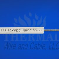 150°C (382F°F) Silicone Rubber High-Voltage Lead Wire Up to a maximum 60 KVDC