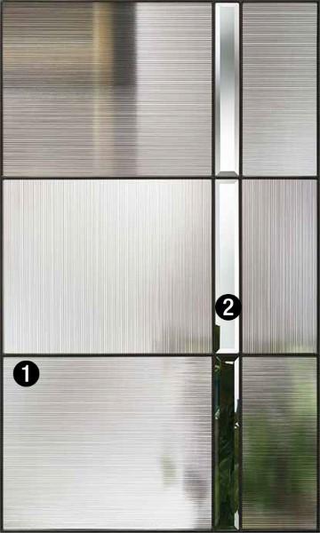 Axis  Decorative  Specialty Glass  ThermaTru Doors