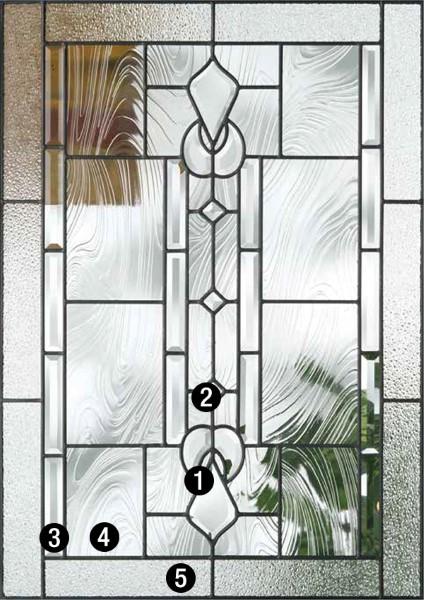 Lucerna  Decorative  Specialty Glass  ThermaTru Doors