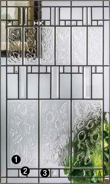 Sedona  Decorative  Specialty Glass  ThermaTru Doors