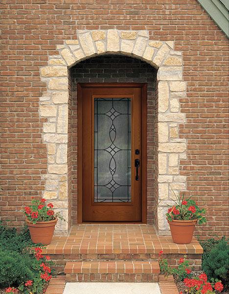 Blackstone  Decorative  Specialty Glass  ThermaTru Doors