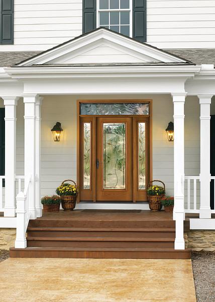 Avonlea  Decorative  Specialty Glass  ThermaTru Doors