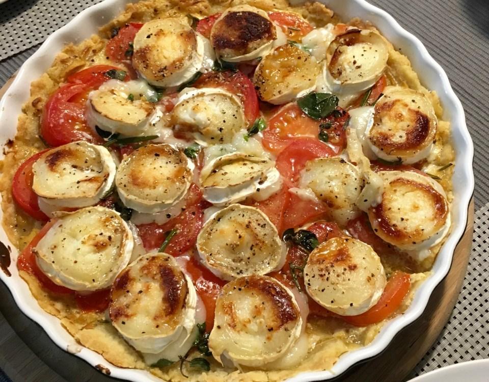 Tomaten-Ziegenkaese-Tarte
