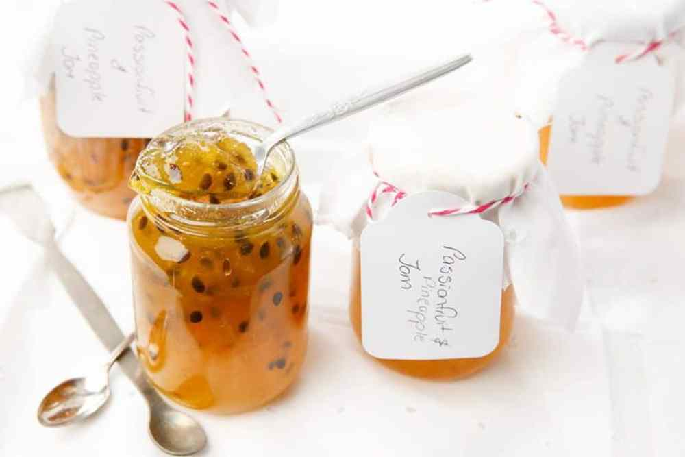 Passion Fruit and Pineapple Jam