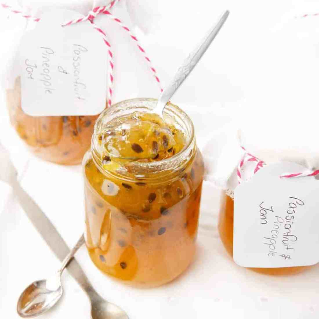Thermomix Passionfruit Jam