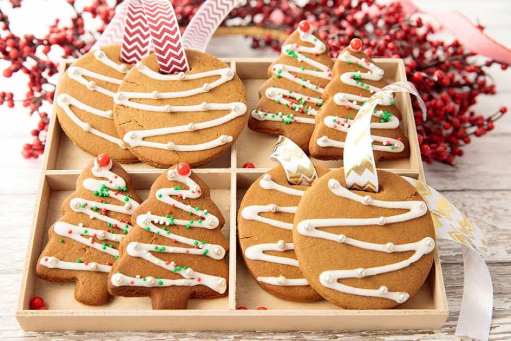 Christmas Gingerbread Cookie Decorations