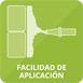 Facilidad de aplicación