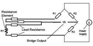 4 Wire RTD Sensor, RTD, Resistance Temperature Detector (RTD)