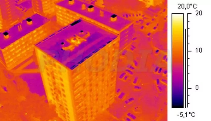 thermographie aerienne capture infrarouge dalkia