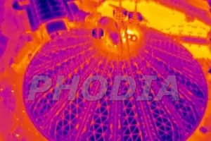 thermographie aerienne capture infrarouge disneyland paris