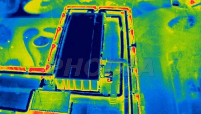 thermographie aerienne capture infrarouge reseau de chaleur disneyland paris