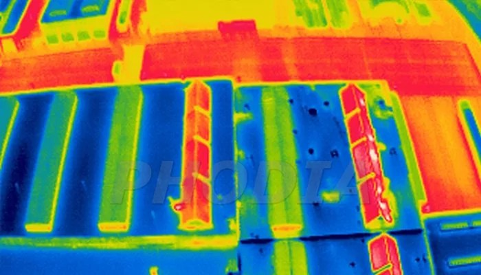 photo thermographie infrarouge RATP