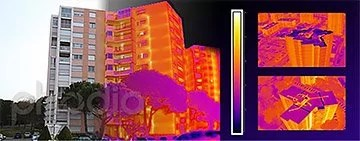 thermographie aerienne capture infrarouge