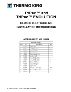 thermo king v520 wiring diagram toyota fujitsu ten 86120 manuals search tk 55827 19 im rev 0 october 2013 tripac closed loop cooling fm