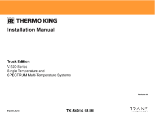 thermo king v520 wiring diagram of lightning strike products manuals truck v 520 series installation manual