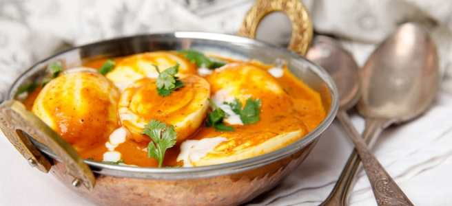 Creamy Kerala Egg Curry