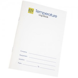 Temperature Log Book From Thermometers Direct