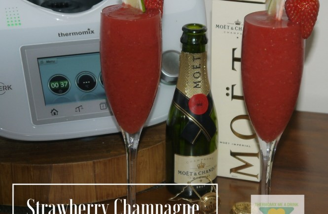 Strawberry Champagne Bellini