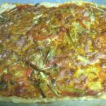 pizza vegetal y pizza hawaiana
