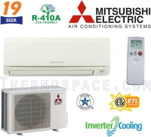 MSYGE18NA  MUYGE18NA Mitsubishi Mr Slim Ductless Split