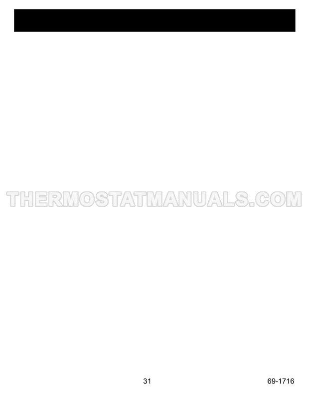 Honeywell RTH5100B Installation Instructions
