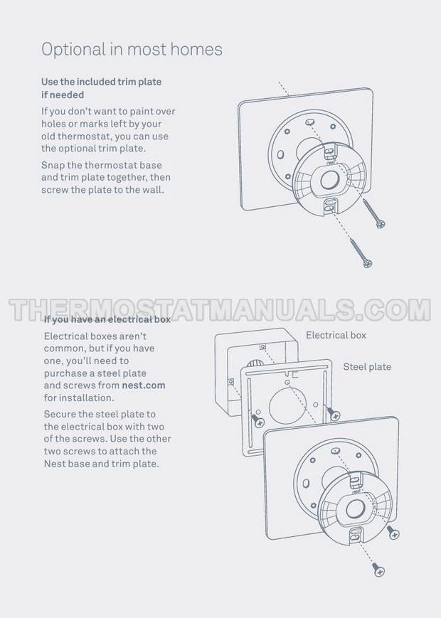 Nest E Wiring Guide / Nest Thermostat Wiring Diagram For