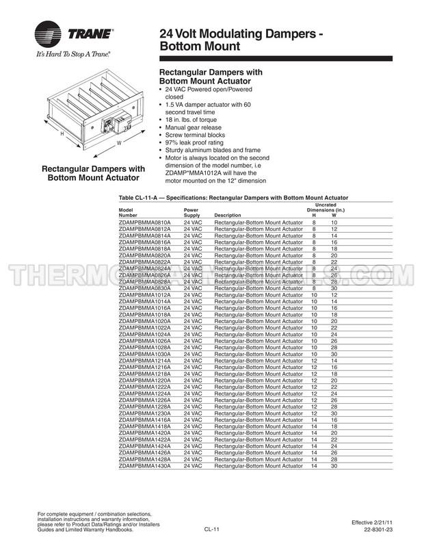 Trane XL950 Owner's Manual