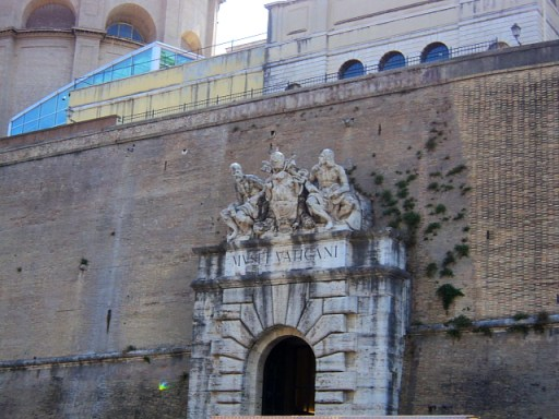 Entrance to the Vatican Museums