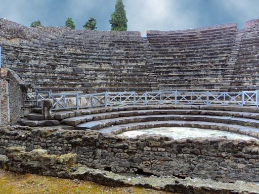 Amphitheater in Pompeii, Italy