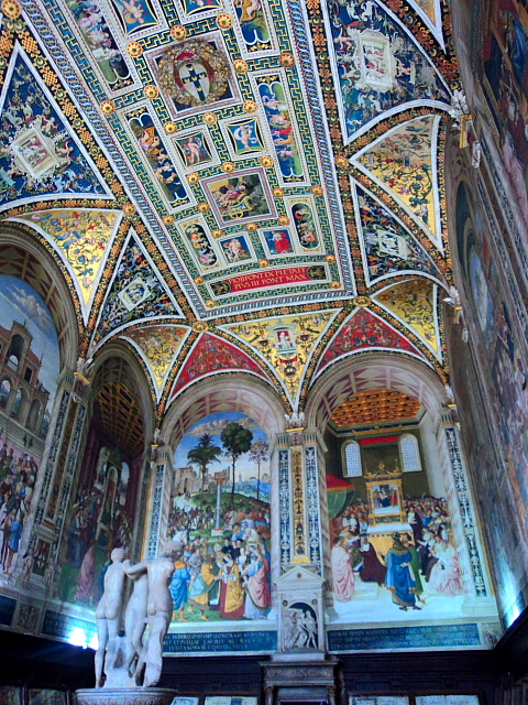 Piccolomini library in Siena Cathedral