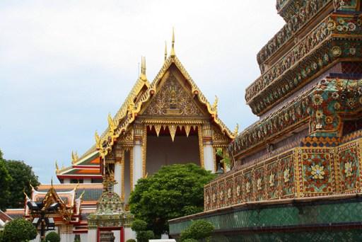 A temple in Wat Pho, bangkok, Thailand