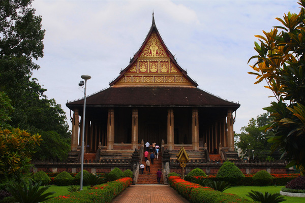 Ho Phra Keo in Vientiane, Laos