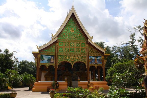 Wat Inpeng in Vientiane, Laos
