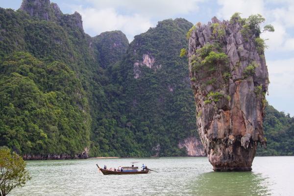 Ko Tapu at James Bond Island, Thailand