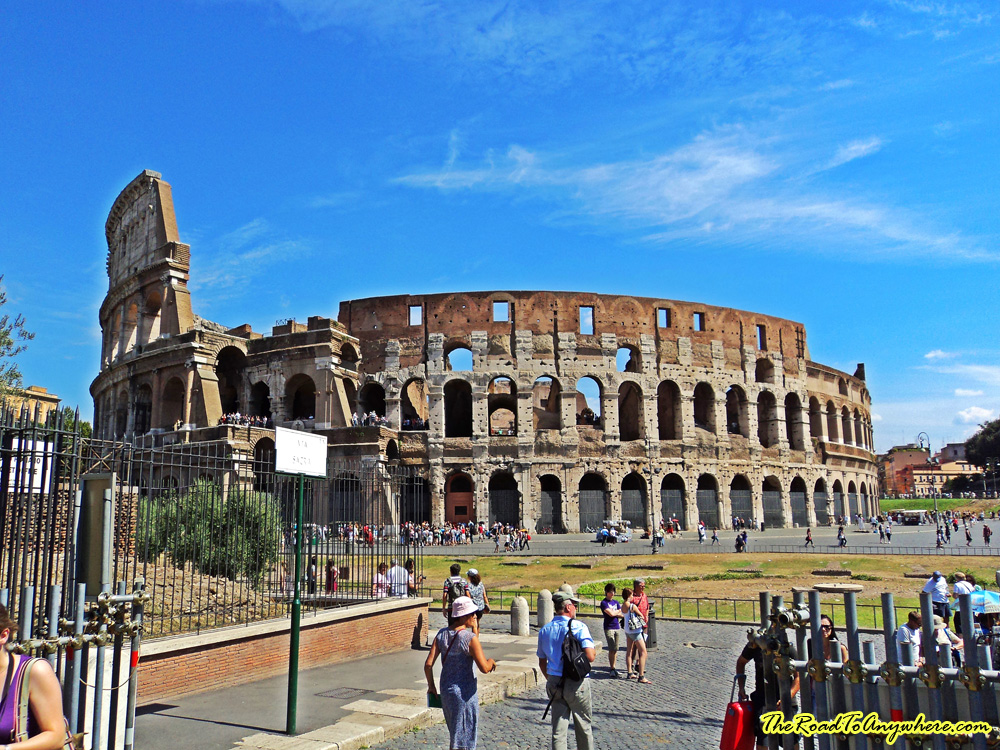 The Colosseum in Rome, Italy