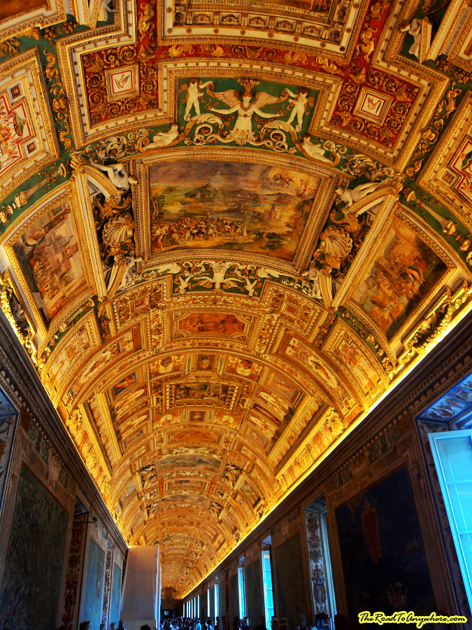 Gallery of Maps in The Vatican City