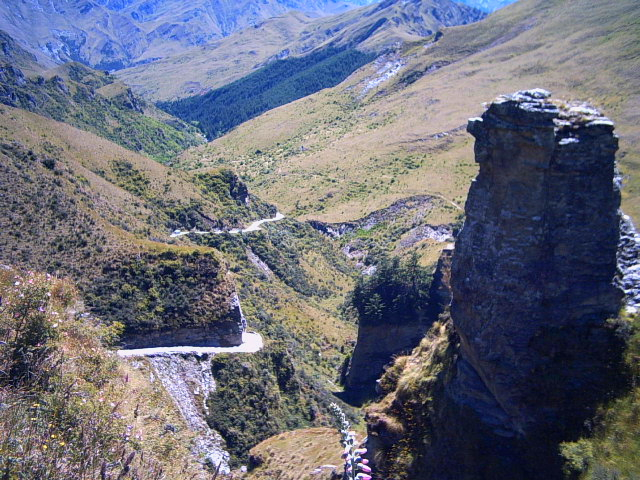 Skipper's Road in Queenstown, New Zealand