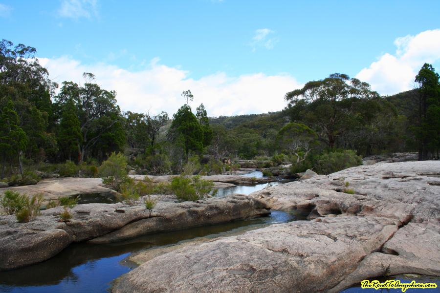 Bald Rock Creek in Girraween National Park, Australia