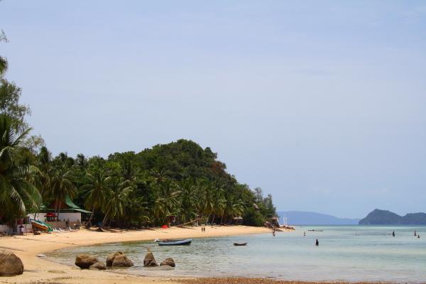 Beach on Koh Phangan, Thailand