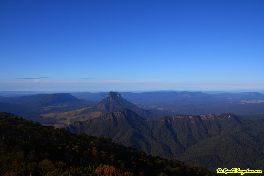 View from the summit of Mount Barney, Australia