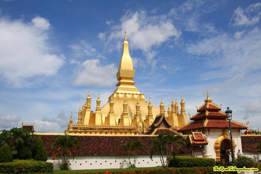 Pha That Luang in Vientiane, Laos