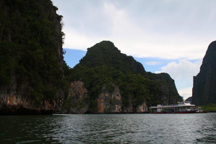 Sea canoeing in Phang Nga Bay, Thailand
