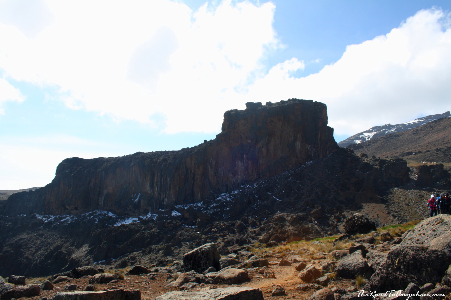The Lava Tower on Mount Kilimanjaro, Tanzania