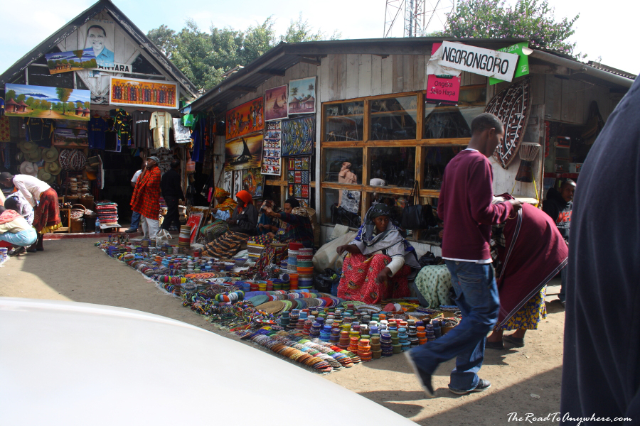 Local arts and crafts at the curio market in arusha for Crafts for selling at market