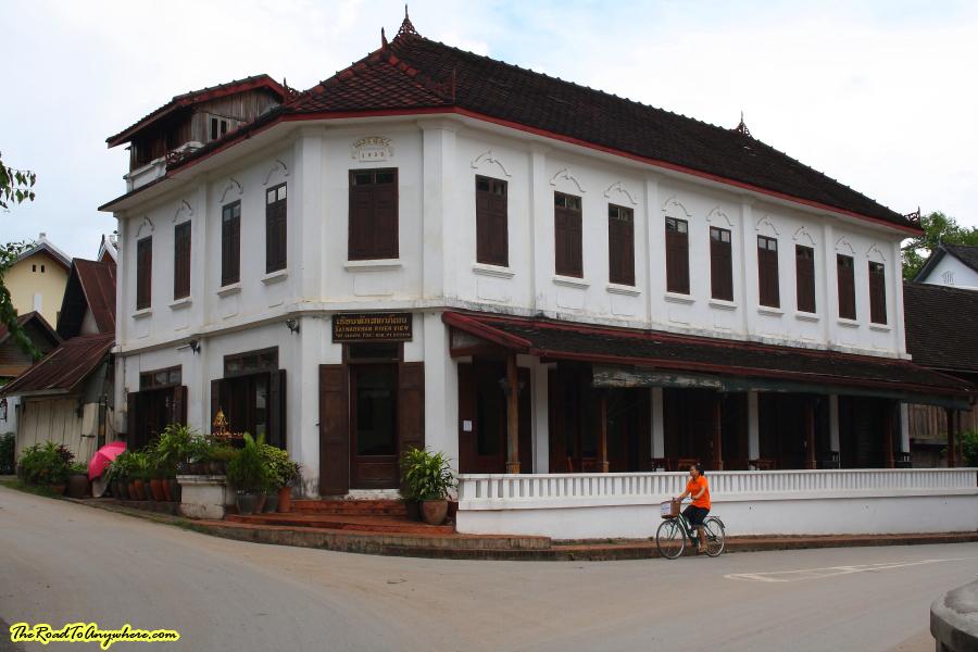 Old house in Luang Prabang, Laos